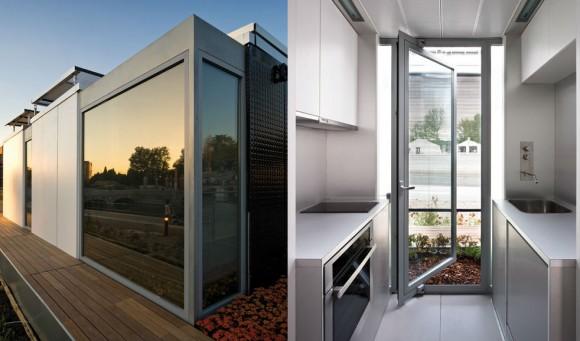 Provedení domu je moderní po všech směrech, a to jak v exteriéru, tak i interiéru, foto: Team Andalucia