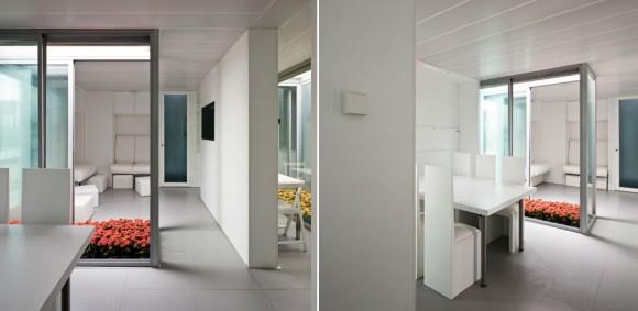 Interiér Patio 2.12 je vyveden především v bílé barvě, foto: Team Andalucia