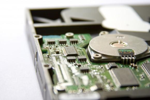Pevný disk počítače, jedna z moderních součástí elektroodpadu, foto: pawel_231