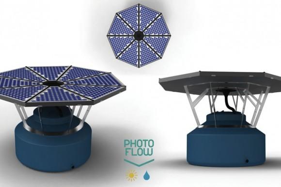 Zařízení Photoflow slouží jako solární ohřívač vody
