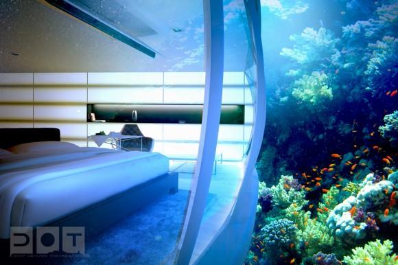 podmořský hotel