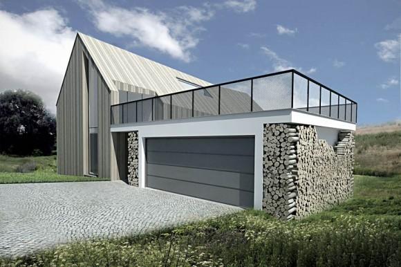Originální dřevostavba polských architektů z Neostudio, foto: Neostudio