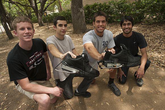 PediPower - boty, které vyrábějí energii, foto: Rice University