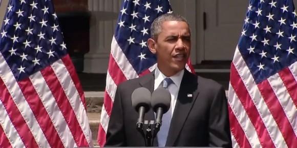 Prezident Spojených států amerických Barack Obama představil plán na podporu rozvoje šetrné energetiky a šetření energiemi, foto: White House/YouTube