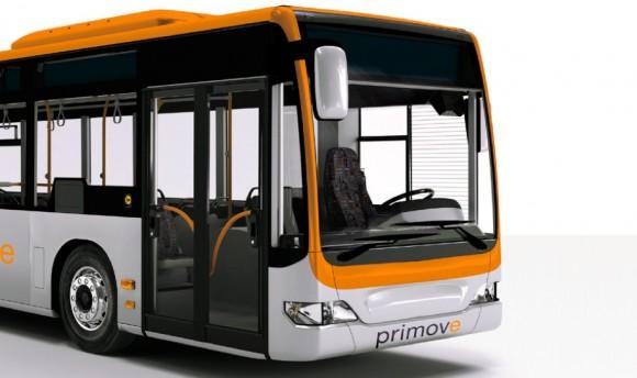 Bezdrátové indukční dobíjení elektrobusů je prozatím ve fázi testování. foto: Primove/Bombardier