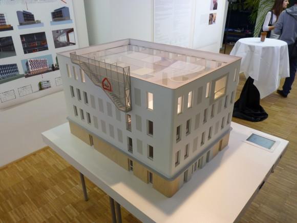 Model první pasivní administrativní budovy v ČR od architekta Radima Václavíka, foto: Ekobydlení.eu