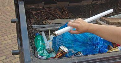 Recyklace úsporných zářivek a žárovek zabrání každý rok znečištění původy i vodních zdrojů.