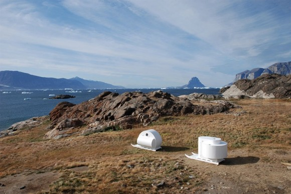 Designér Rob Sweere navrhnul pro obyvatele dalekého severu obytné saně. foto: Rob Sweere