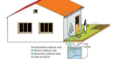 Akumulace dešťové vody a využití pro zálivku či splachování. foto: dotacedestovka.cz