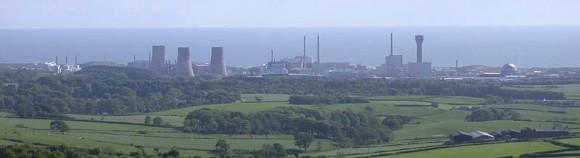 Jaderné zařízení v Sellafieldu na severu Británie v regionu Cumbria u Irského moře. foto: www.visitcumbria.com