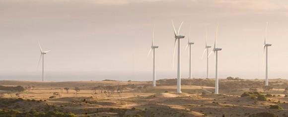Větrné elektrárny australské energetické skupiny Senvion. foto: Senvion