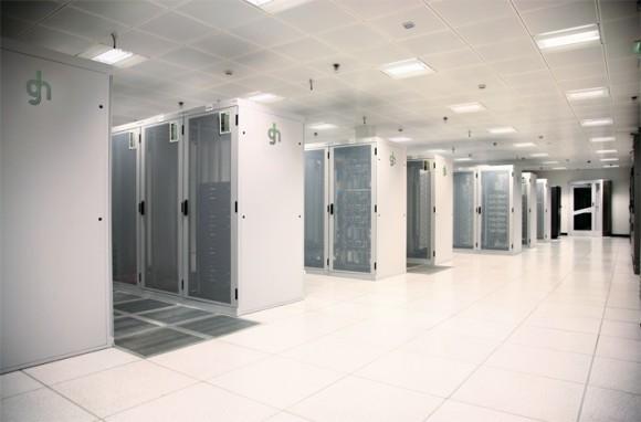 Unikátní pohled do tzv. serverovny společnosti GreenData, foto: GreenData