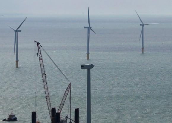 Větrné podnebí dělá ze souostroví Shetlandy jedno z nejzajímavějších míst pro výrobu větrné energie v Evropě. Větrná farma Viking bude pravděpodobně využívat větrné turbíny Siemens 3,6 MW, foto: Siemens