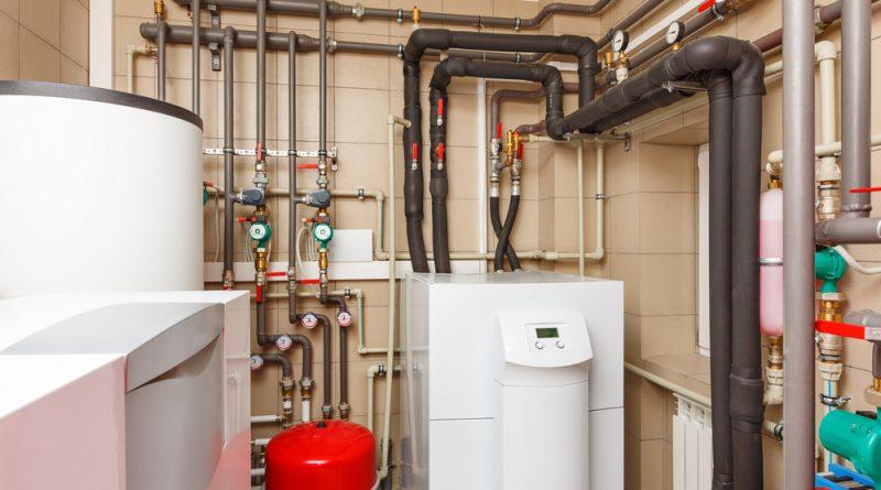 Tepelné čerpadlo pro vytápění domu. foto: Alexxxey, Shutterstock.com