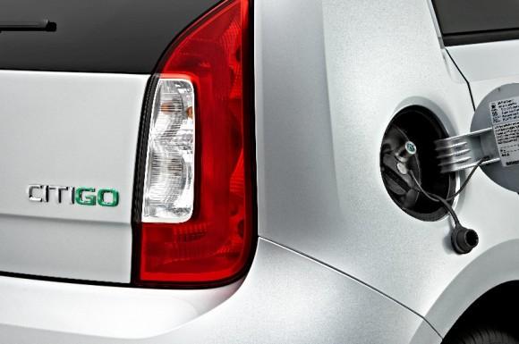 Škoda Citigo green tec, neboli Škoda Citigo na CNG, bude v prodeji od konce letošního roku. foto: Škoda Auto