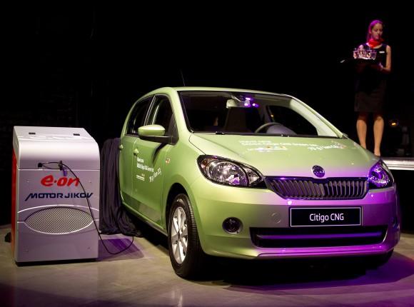 První vůz značky ŠKODA na zemní plyn bude na český trh uveden pravděpodobně již na konci roku 2012. foto: Škoda Auto