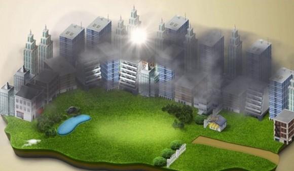 Smog dělá Číně problémy. A ta se je snaží řešit. Více či méně úspěšně. foto: Studio Roosegaarde