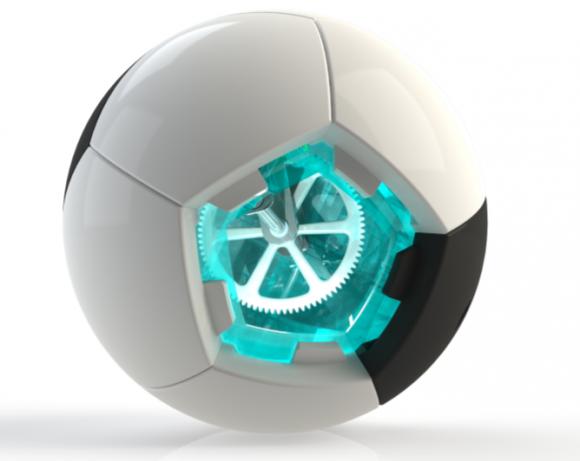sOccket - fotbalový míč, který slouží zároveň jako malá přenosná elektrárna, foto: Uncharted Play