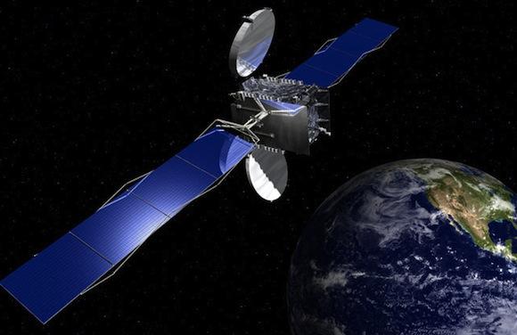 solární články vesmírný satelit solární články