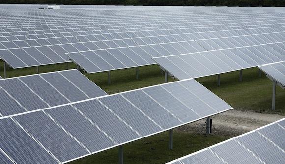 Solární elektrárna, foto: Conergy
