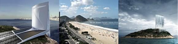 Dočká se Rio de Janeiro kromě krásných pláží také solárního vodopádu napájejícího olympijskou vesnici v roce 2016? foto: rafaa