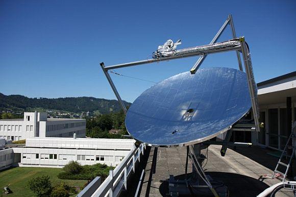 Solární elektrárna HCPTV v Curychu. foto: IBM Research