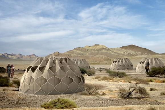 Unikátní soběstačný stan získal své návrhářce prestižní designérskou cenu. foto: Abeer Seikaly