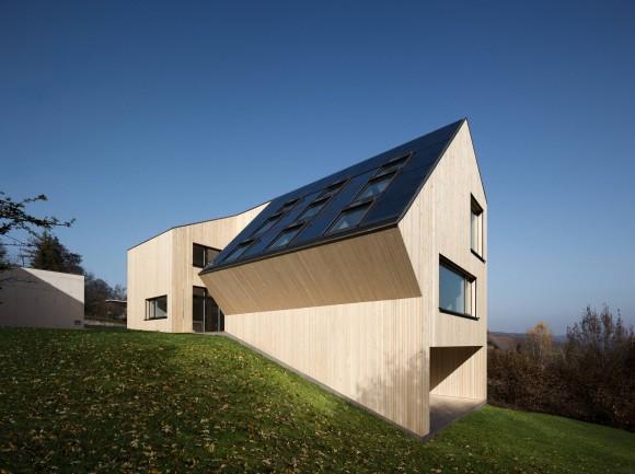 Sunlighthouse je jedinečný i po architektonické stránce. foto: Velux