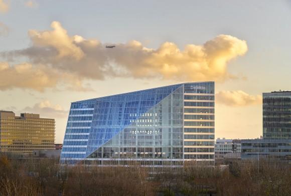 Šetrná kancelářská budova The Edge v Amsterdamu. foto: Deloitte