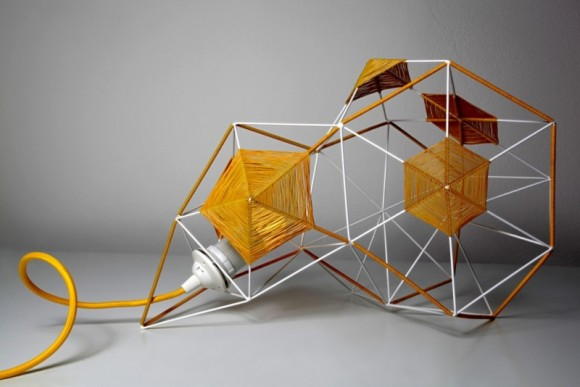 Lampa Crystal studia Trashmade, foto: Trashmade