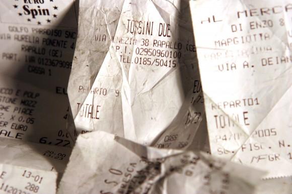 Účtenka z pokladny - je toxická? foto. sxc.hu/sciucaness
