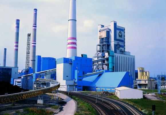 Uhelná elektrárna v Mělníce, foto: ČEZ