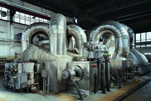 Uvnitř uhelné elektrárny Počerady, foto: ČEZ