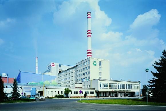Uhelná elektrárna Prunéřov, foto: ČEZ