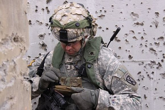 Současný voják se bez elektronických přístrojů neobejde, foto: Army.mil