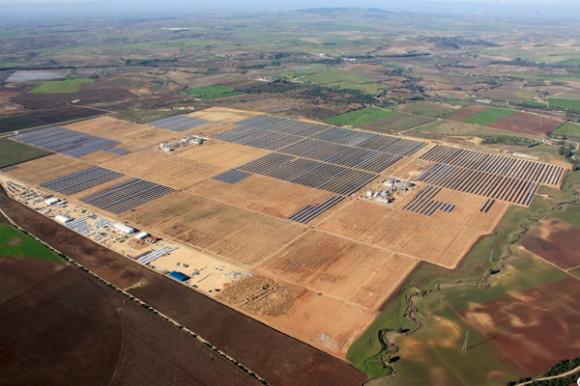 Solární termální (koncentrační) elektrárny Valle 1 a 2 poblíž Cádizu, foto: © Torresol Energy