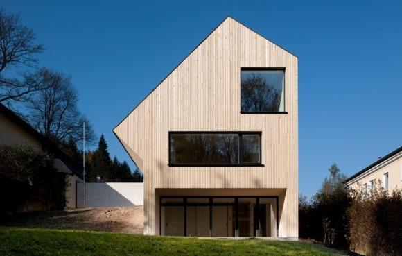 Šetrný rodinný dům Velux Sunlighthouse má ukázat, jak jednoduché je v dnešní době bydlet ekologicky i ekonomicky. foto: Velux