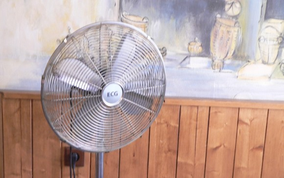 Stojanový ventilátor. foto: archiv autora