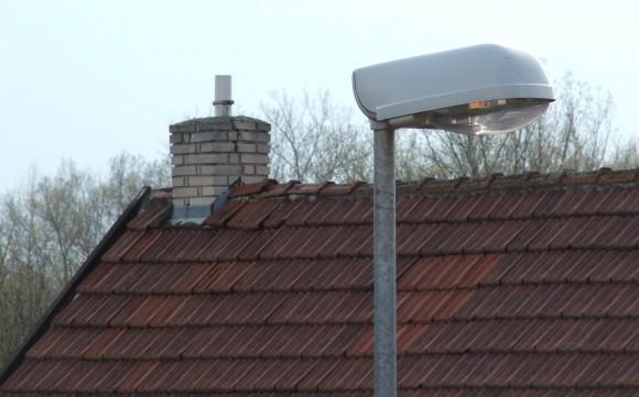 Lampa veřejného osvětlení, foto: Ekologické bydlení