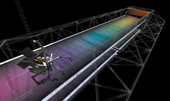 Vesmírný 3D tisk - v budoucnosti se na oběžné dráze země budou nová plavidla a stanice tisknout, namísto zdlouhavého dopravování z povrchu planety. foto: TUI