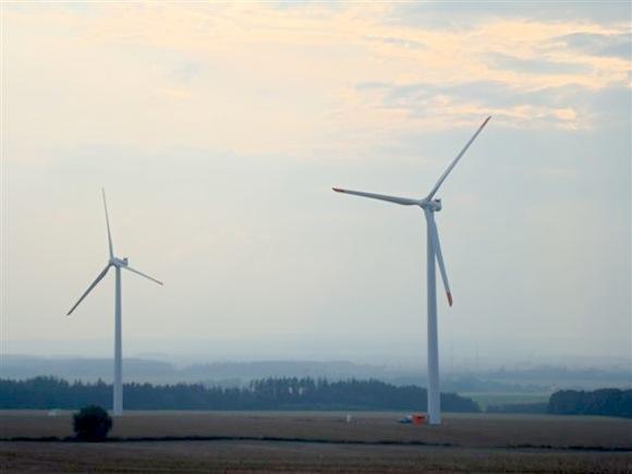 větrná elektrárna Wikov