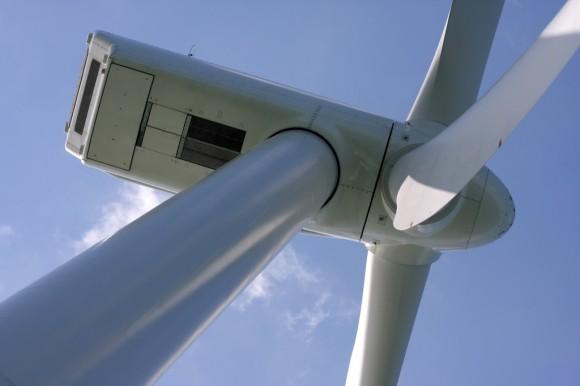 Větrná farma Thanet společnosti Vattenfall - detail větrné turbíny, foto: Jimmie Cook, royalty free