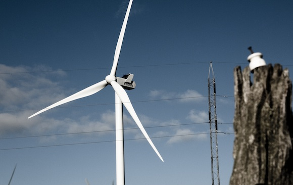 Větrná turbína světoznámé dánské společnosti Vestas, foto: Vestas