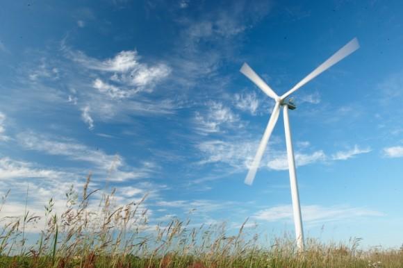 Větrná turbína Vestas na širé pláni, foto: Vestas