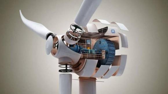 GE v současné době přímo investuje do vývoje nových typů větrných turbín využívajících magnetické rezonance, foto: GE