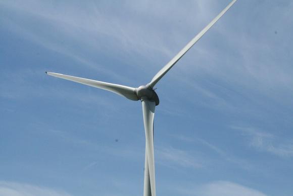 Větrná turbína větrné elektrárny - budoucnost energetiky?, foto: Monika Kolářová