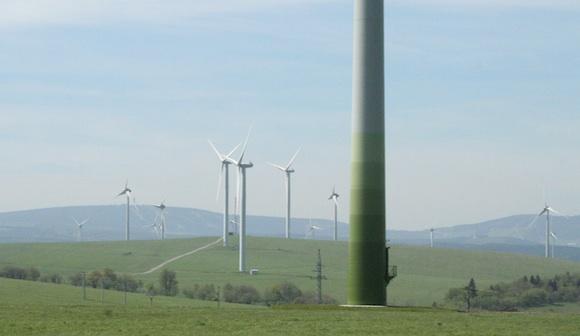 Také v České republice se nejčastěji větrné elektrárny staví v horských oblastech, foto: Ekologické bydlení
