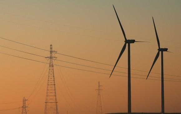 Větrné elektrárny dánské společností Vestas v USA, foto: Vestas