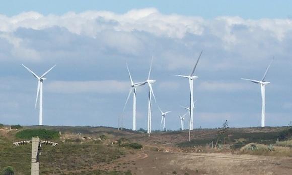 Větrné elektrárny - mají v budoucnosti zajišťovat valnou část energie celé Evropy, foto: Ekobydleni.eu