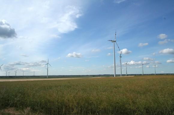 Lidem v USA a Austrálii (a nejen tam) vadí větrné elektrárny jako takové, ne hluk, který vydávají. Větrné turbíny v okolí Vídně. foto: Jan Horčík